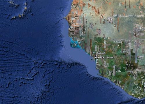 Google Earth - Конакри